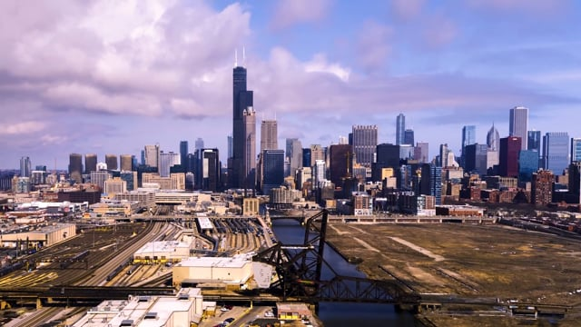 Chicago View From South